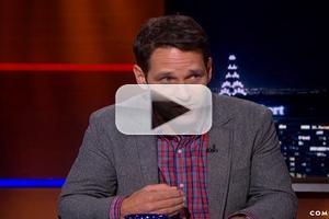 VIDEO: Paul Rudd Talks New Comedy 'They Came Together' on COLBERT