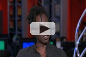 STAGE TUBE: HOLLER IF YA HEAR ME Star Saul Williams Stops by MORNING JOE