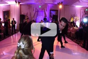 STAGE TUBE: Groom Surprises Bride with Choreographed Dance of Beyonce, Backstreet Boys and Bruno Mars!