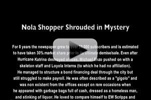 STAGE TUBE: CONFESSIONS OF A SELF-HELP WRITER Shares a Video History of the Nola Shopper