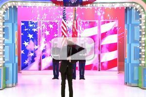 VIDEO: Sneak Peek - CBS's THE PRICE IS RIGHT Salutes Service Men & Women on 4th of July