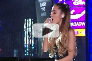 VIDEO: Ariana Grande Performs Jazzy, Acoustic Version of 'Problem' on MTV