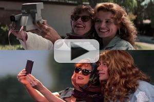 VIDEO: Jimmy Kimmel & Susan Sarandon Recreate 'Thelma & Louise' Selfie