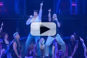 STAGE TUBE: Watch Matthew Saldivar and Joey Taranto Rock Hard in BROADWAY BARES Opening Number!