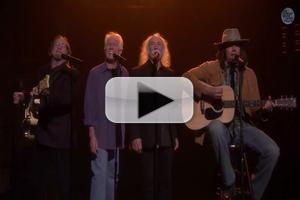 VIDEO: Crosby, Stills, Nash & Young (?) Reunite for Moving Cover of Iggy Azalea's 'Fancy'!
