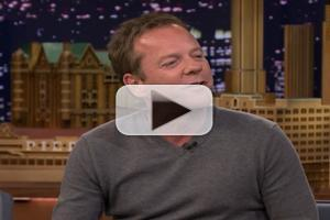 VIDEO: Kiefer Sutherland Talks '24', World Cup & More on TONIGHT SHOW