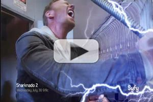 VIDEO: New Trailer & Featurette for Syfy's SHARKNADO 2 Arrive!