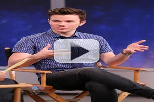 VIDEO: Chris Colfer Talks GLEE, New Book & Noel Coward Biopic on GMA