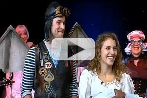 STAGE TUBE: NYMF's THE SNOW QUEEN Cast Performs 'Flying!'