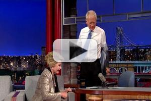 VIDEO: David Letterman Walks Out on Joan Rivers Interview!