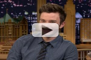 VIDEO: Chris Colfer Talks New Book, GLEE Rumors & More on TONIGHT SHOW