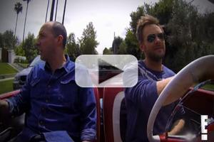 VIDEO: 'The Soup's Joel McHale Spoofs Seinfeld's COMEDIANS IN CARS