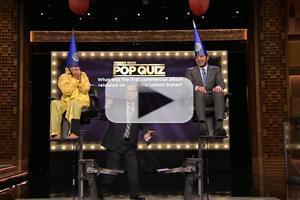VIDEO: Kelly Ripa & Jimmy Fallon Compete in TONIGHT SHOW Trivia Game!