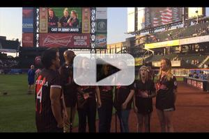 BWW TV: Cast of KINKY BOOTS First at Bat; Sings National Anthem at the Mets Game!