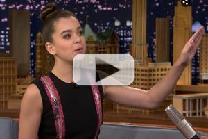 VIDEO: Hailee Steinfeld Chats New Films 'Pitch Perfect' & 'Begin Again' on TONIGHT