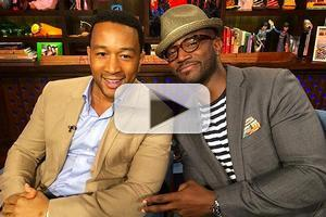 VIDEO: Taye Diggs & John Legend Compete to Leave the Sexiest Voicemail on Bravo