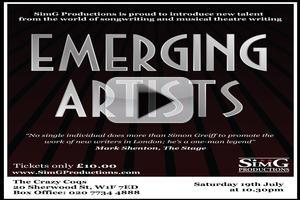 STAGE TUBE: EMERGING ARTISTS - Highly Commended!
