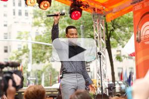 VIDEO: John Legend Performs 'All of Me', 'You and I' &  More on TODAY