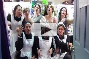 STAGE TUBE: Flat Rock's Cast of MY FAIR LADY Raps LOVERLY