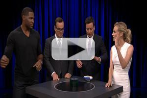 VIDEO: Diane Kruger & Michael Strahan Play 'Catchphrase' on TONIGHT