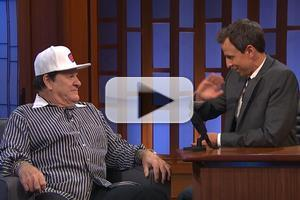 VIDEO: Pete Rose Talks Current State of Baseball on LATE NIGHT