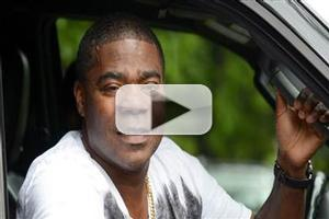 VIDEO: First Look - Tracy Morgan Greets the Press Outside His NJ Home