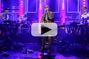VIDEO: Bleachers Perform 'I Wanna Get Better' on TONIGHT SHOW