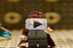 VIDEO: DOCTOR WHO's 50th Anniversary Special Gets Lego Treatment