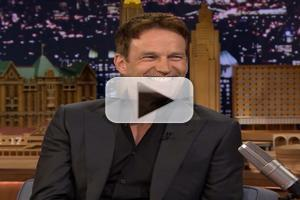VIDEO: 'True Blood's Stephen Moyer Reveals His Real Name on TONIGHT SHOW