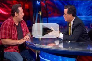 VIDEO: Marvel's Joe Quesada Denies COLBERT Job as Next Captain America!