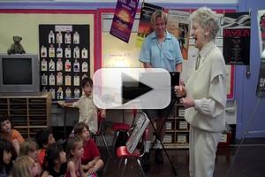 STAGE TUBE: Flashback - Elaine Stritch Sings 'Broadway Baby' to P.S. 212 First Graders