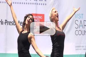 BWW TV: Ladies of CHICAGO Get Jazzy at BROADWAY IN BRYANT PARK!