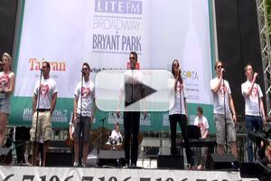 BWW TV: Company of ATOMIC Gives Explosive Performance in Bryant Park!