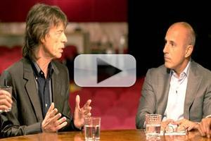 VIDEO: Mick Jagger Talks New Film 'Get On Up', Tragic Loss of His Girlfriend on TODAY