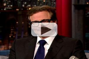 VIDEO: Commander of the British Empire Colin Firth Still Gets No Respect on LETTERMAN