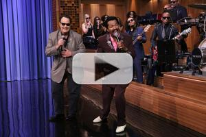 VIDEO: 'Get On Up' Star Dan Aykroyd Performs James Brown Classic on TONIGHT
