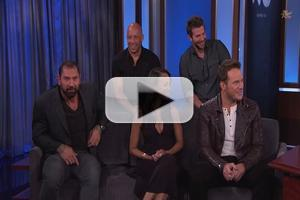 VIDEO: Cast of GUARDIANS OF THE GALAXY Visits Jimmy Kimmel Live; Watch Appearance!