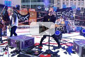 VIDEO: 5 Seconds of Summer Perform 'She Looks so Perfect', 'Amnesia' on TODAY