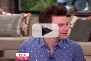 VIDEO: Chris Colfer Talks GLEE on THE TALK: 'One of the Best Experiences of My Life'