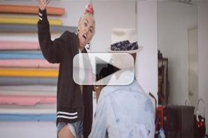 VIDEO: First Look - Miley Cyrus Featured in Pharrell Williams 'Come Get It Bae' Music Video