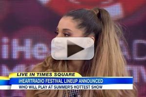 VIDEO: Ariana Grande & Ryan Seacrest Share Big Announcement on GMA