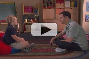 VIDEO: New Dad JIMMY KIMMEL Gets Parenting Advice...From Kids!