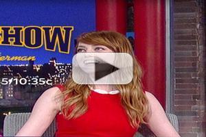 VIDEO: Emma Stone Talks Supernatural Encounters on LETTERMAN