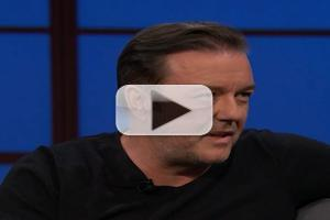 VIDEO: Ricky Gervais Offers Hosting Tips to Seth Meyers on LATE NIGHT