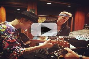 VIDEO: Justin Bieber Shares First Listen to 11 New Songs on Instagram!