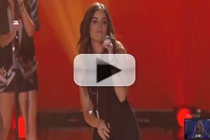 VIDEO: Lucy Hale Performs New Single 'Lie a Little Better' on SYTYCD