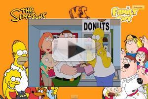 VIDEO: SIMPSONS/FAMILY GUY Crossover Footage Revealed at Comic-Con