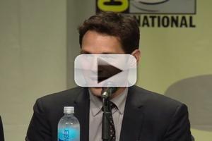 VIDEO: Paul Rudd & Cast of Marvel's ANT-MAN Visit Comic-Con 2014!