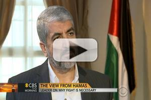VIDEO: First Look - Hamas Leader Tells CHARLIE ROSE He 'Cannot Live Under Occupation'