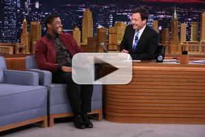 VIDEO: Chadwick Boseman Talks James Brown Biopic 'Get On Up' on TONIGHT